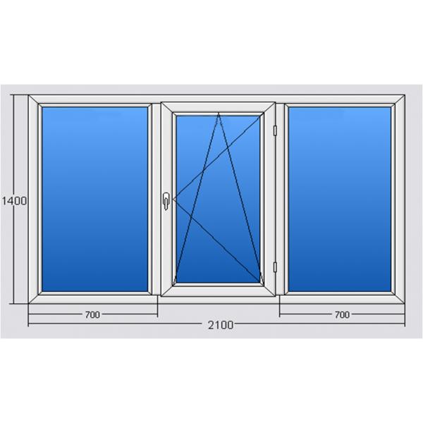 Окно 2100*1400 Steko R500